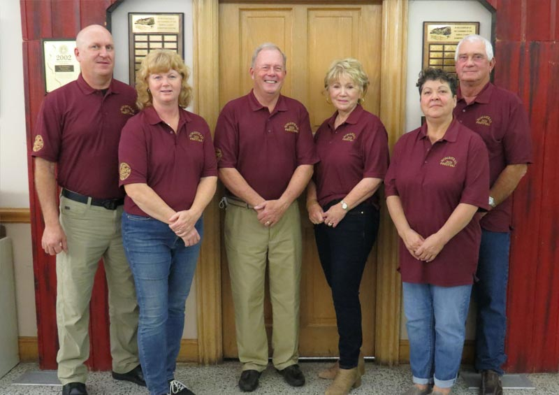2017 Steering Committee, Lead Couple Bob  & Marcia Hartwig, Bob & Kristi Warren and Tim & Aggie Smith