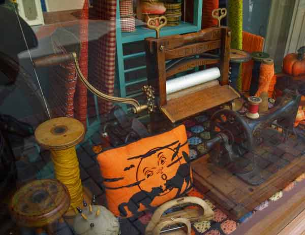 Homestead Festival Window Displays